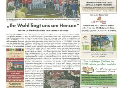 Neue Woche - Anzeigen-Spezial 20150607
